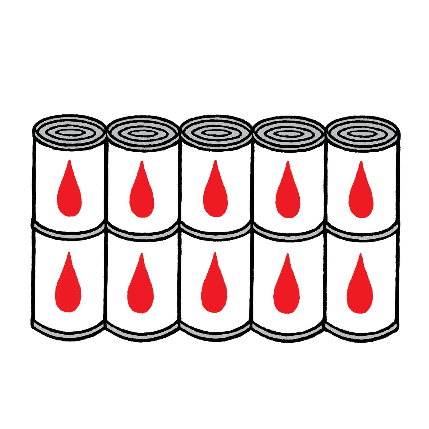 Konserverat-blod